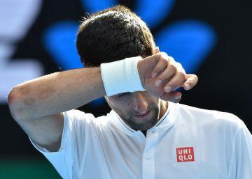 Djokovic, fulminado en Australia