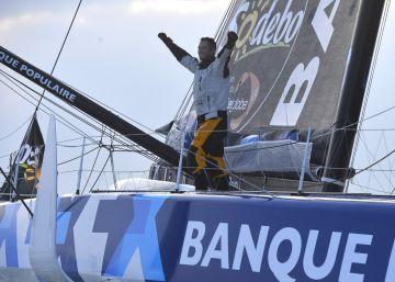 Armel Le Cléac'h gana la Vendée Globe
