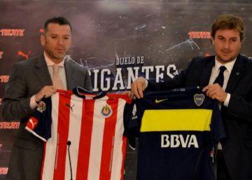 Las Chivas se enfrentarán a Boca Juniors en México