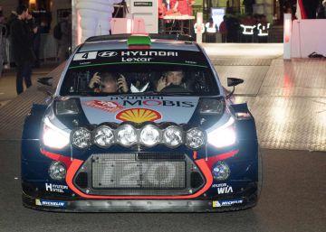 Muere un espectador español tras un accidente en el Rally de Montecarlo