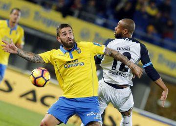 Un punto sin fútbol para Las Palmas y Deportivo