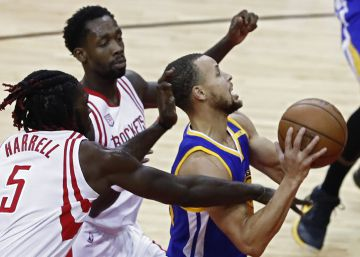 Curry y los Warriors arrollan a los Rockets de Harden