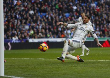 Ramos evita otro soponcio del Real Madrid