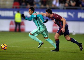 El tridente del Barça desmonta al Eibar