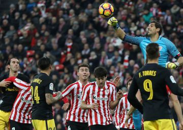 El Athletic frena al Atlético