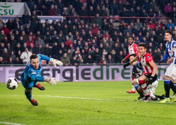 Héctor Moreno anota y finiquita la remontada del PSV Eindhoven