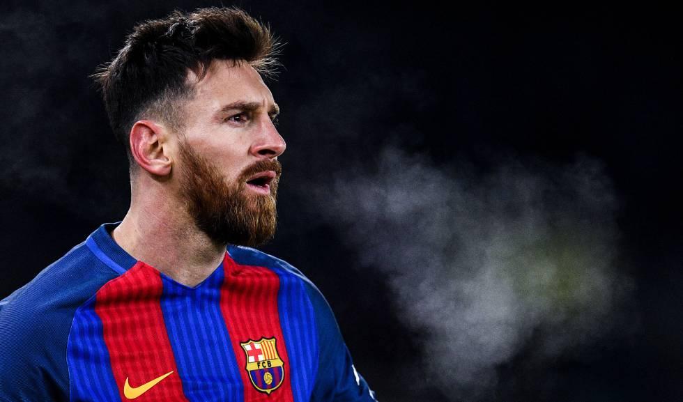 Messi, en el partido de Copa ante la Real Sociedad.