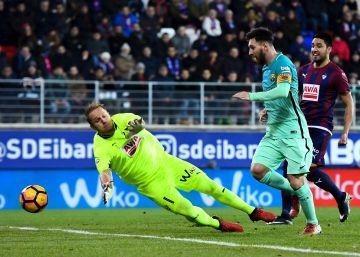 Messi abrillanta al Barça