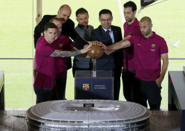 Barça espera iniciar as obras do novo Camp Nou em 2018