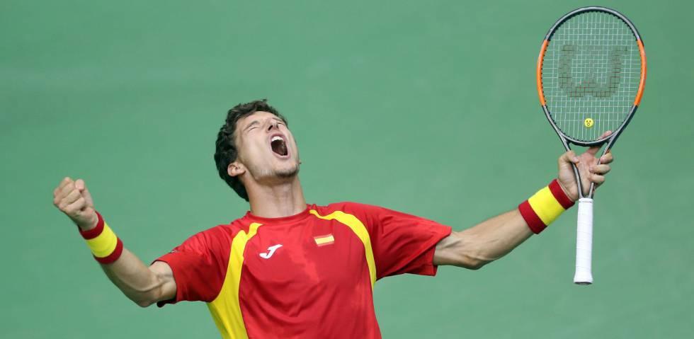 España sufre pero pasa a cuartos gracias a Bautista y Carreño