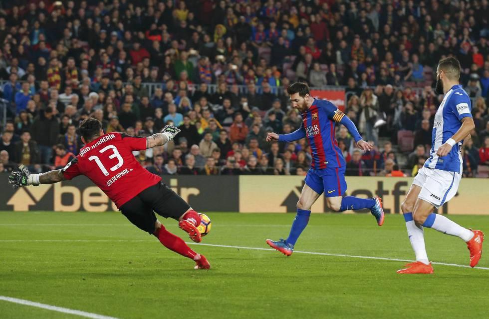 Messi salva al Barça frente al Leganés