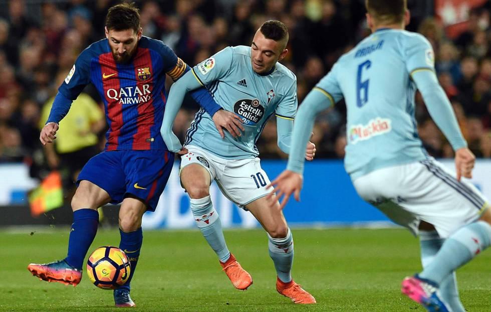 Barcelona ganó 5-0 a Celta de Vigo