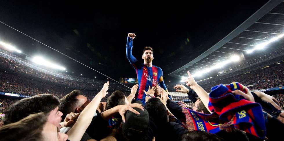 Messi y la foto de los 70 millones de visitas