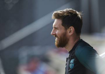 El Camp Nou invoca a Messi