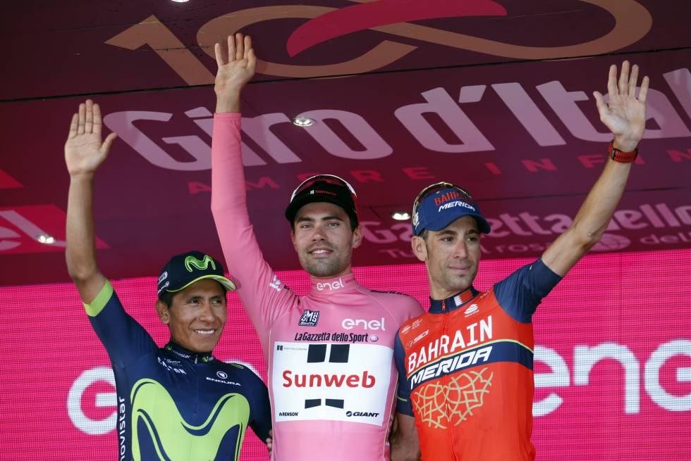 Van Ende gana la etapa y el belga Dumoulin remonta para ganar el Giro