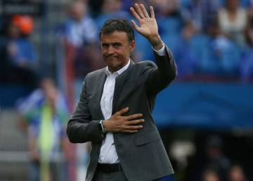 "Luis Enrique: ""No me'n vaig, l'any que ve seré al Camp Nou"""