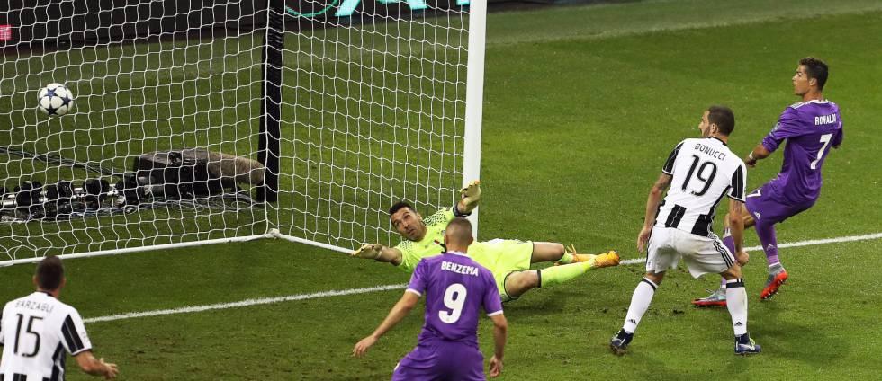Cristiano marca el 1-3.