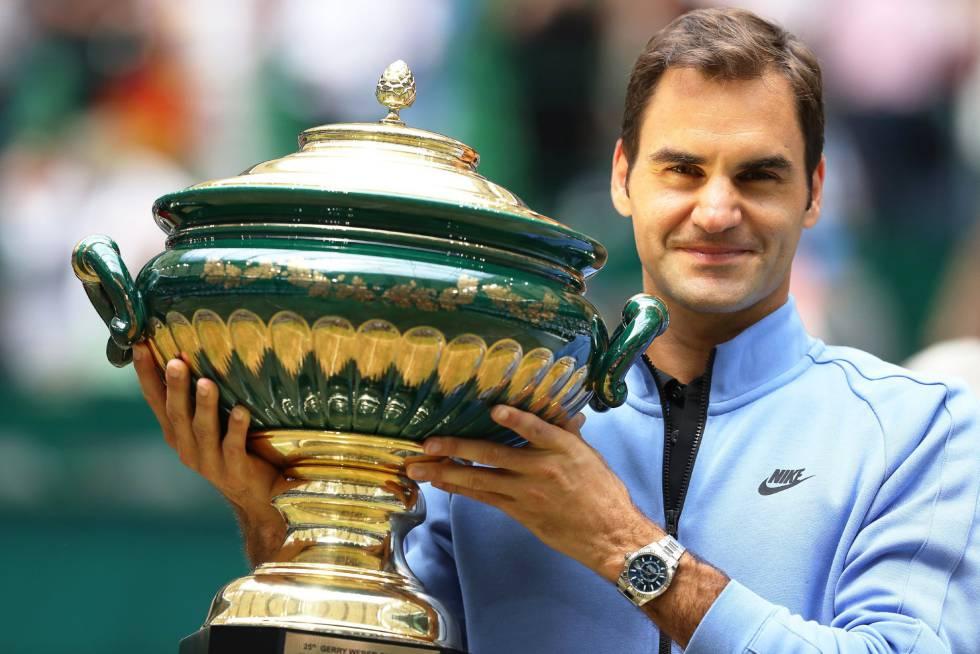 Noveno título para Federer en Halle