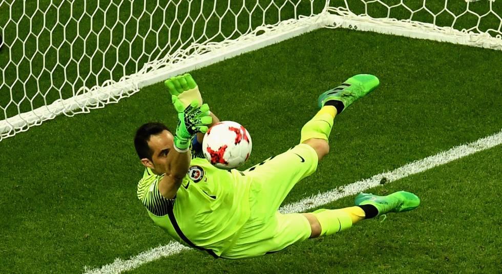 Chile, finalista de la Copa Confederaciones tras eliminar en los penaltis a Portugal