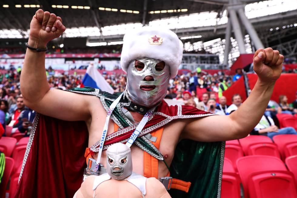 Prohibición de máscaras de luchador durante el Mundial es de FIFA