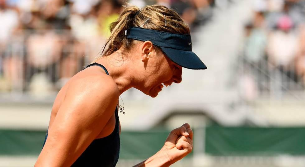 Sharapova y Halep se meten a tercera ronda de Roland Garros