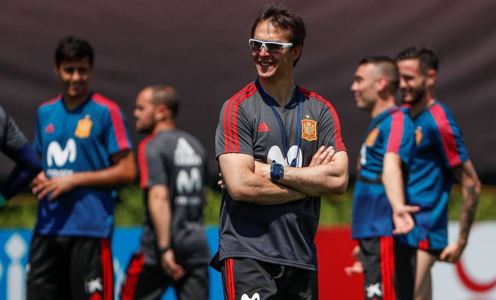 Julen Lopetegui: lágrimas y una contradicción flagrante sobre Lionel Messi