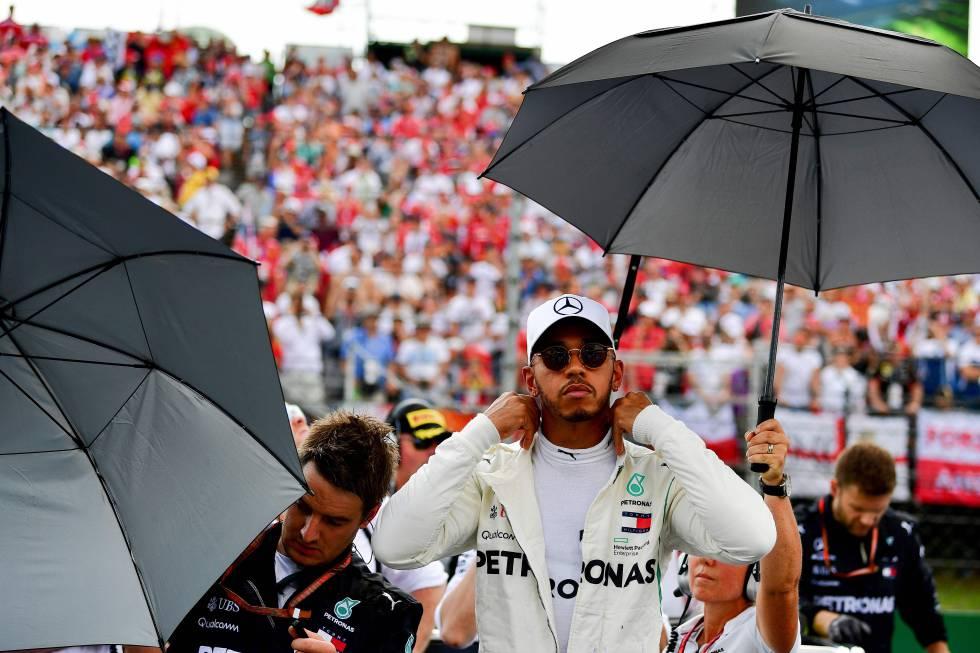 Hamilton se quedó con la pole en Spa