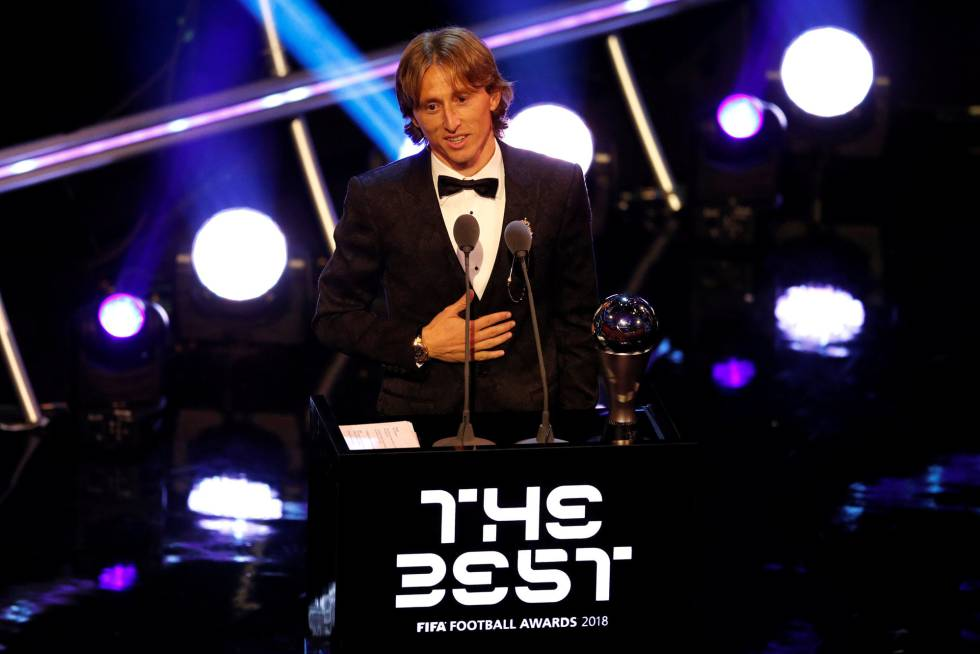 Luka Modric, ganador del 'The Best' a Mejor Jugador