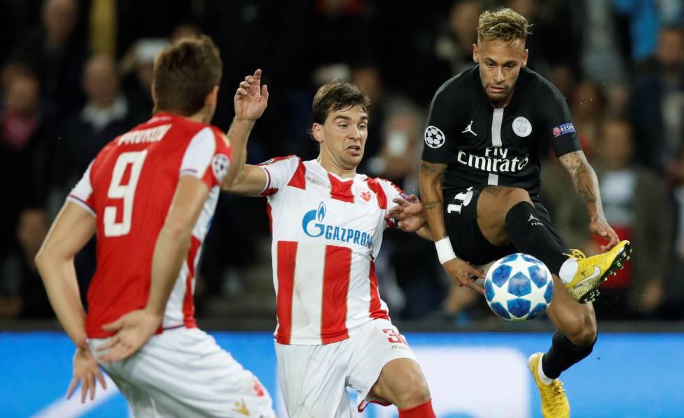 Francia investiga posible amaño de PSG-Estrella Roja en la Champions