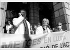 Alta participación en la huelga de médicos de los hospitales del ICS