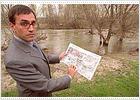 AENA afirma que usará un tramo del viejo cauce del Jarama para desviar el río a su paso por el aeropuerto
