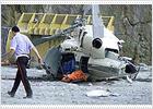 Tres muertos y un herido grave al caer un helicóptero de la televisión pública vasca