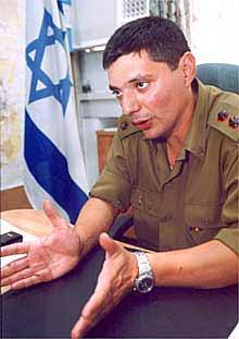 Rafowicz, ayer en Jerusalén.