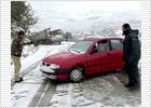 La nieve obliga al uso de cadenas al menos en  14 carreteras valencianas