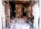 Tres heridos en el incendio de una vivienda en El Cabanyal