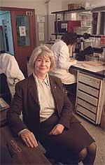 María Teresa Miras, en su despacho.