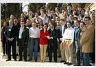Aznar trata de disuadir a los manifestantes antiglobalización porque participa Batasuna