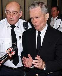 El cura pederasta John Geoghan, tras ser condenado a 10 años el pasado febrero.