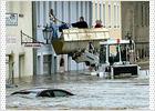 Las fuertes lluvias causan 10 muertos y daños materiales incalculables en Alemania y Austria