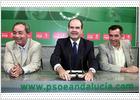 Chaves anuncia una campaña de la Junta para 'romper los tópicos' sobre el subsidio agrario