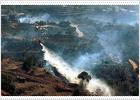 Un nuevo incendio en Mijas, presuntamente provocado, obliga a desalojar a 400 personas