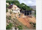 El promotor del centro ruso de Málaga alza parte de su vivienda sobre suelo no urbanizable