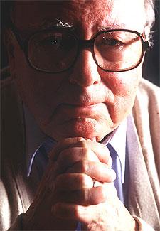 Augusto Monterroso, en una imagen de 1996.