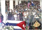 Decenas de miles de admiradores despiden a Celia Cruz en Miami