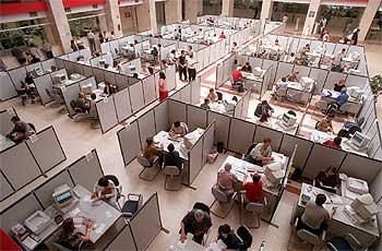 Oficinas de la delegación de Hacienda de Madrid.