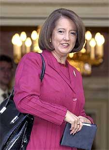 Soledad Alvear.