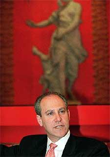 Glenn D. Lowry, ayer en Madrid.