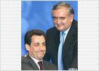 Chirac coloca al popular Sarkozy al frente de la difícil cartera de Economía