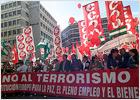 La Constitución de la UE, el terrorismo y el nuevo Gobierno centran el Primero de Mayo