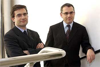 Manuel Puig (izquierda) y Marc Puig, los nuevos consejeros delegados.
